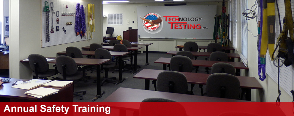 Annual Safety Training | Tech Testing
